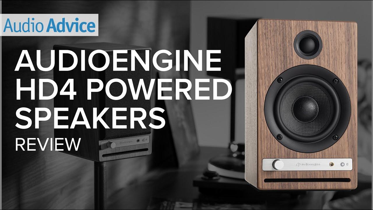 Download Audioengine HD4 Powered Speakers Review