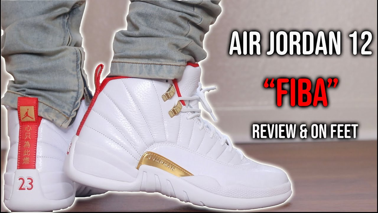 Air Jordan 12 FIBA Review & On Feet | Are They Worth $190?