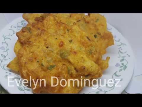 How To Make Bacalaitos (Cod Fish Fritters )