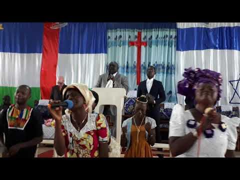Bangui church service