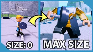 How I Became The STRONGEST PLAYER EVER in Roblox Weight Lifting Simulator 4