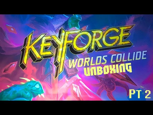 APRIAMO IL BOX DI WC feat GIULIANA | KEYFORGE WC PT.2