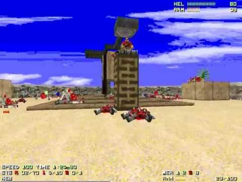 """[Doom 2] Epic 2 Map07 """"Hell Guard"""" UV-Max in 2:56"""
