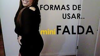 Formas de usar MINI FALDAS Thumbnail