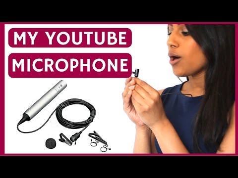 My Youtube Microphone - SONY ECM 55B | VEENA V