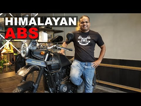 Yes ABS on RE Himalayan