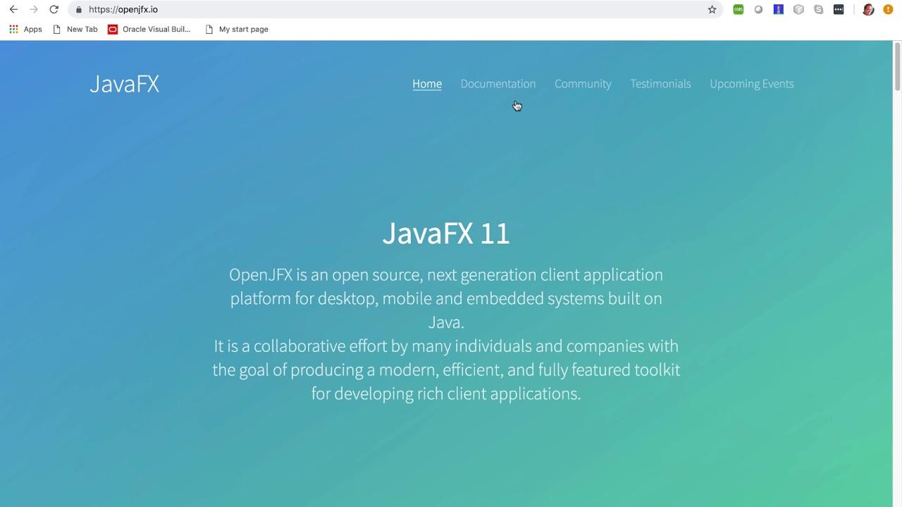 Javafx Jar Maven