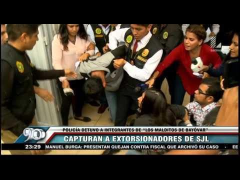 Policía detuvo a tres integrantes de 'Los malditos de Bayóvar'