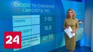Разгерметизация салона: пассажиры прощались с жизнью со смартфонами в руках - Россия 24
