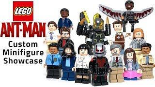 LEGO ANT-MAN Custom Minifigure Showcase  - Road to Avengers: Endgame