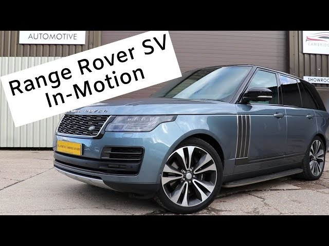 Range Rover SV Autobiography | Video In-Motion | CBS Automotive