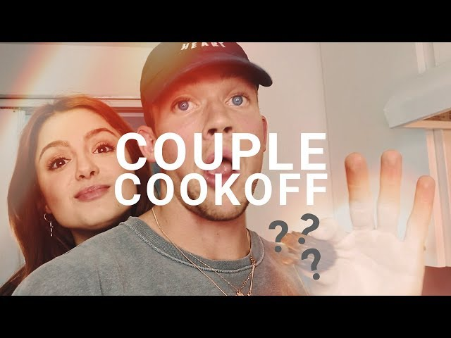 COUPLES COOKING CHALLENGE WITHOUT RECIPES *fail* | TIM & CAM