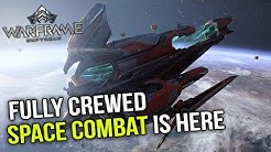 Warframe Empyrean - Space Combat with a Full Crew!