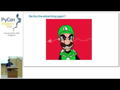 Machine Learning Pipeline using Luigi and Scikit Learn - PyConSG 2016