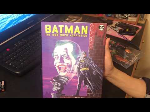 Batman 1989 Movie Adaptation Deluxe Edition