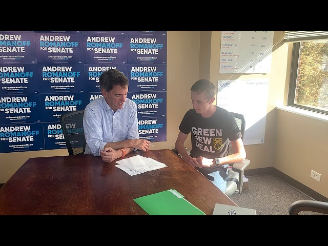 Pledge Signing with Sunrise Movement Denver