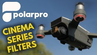 PolarPro Cinemas Series Filter for DJI Spark