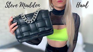 My Top 5 Favourite STEVE MADDEN Items - Leather Boots, Crossbody Handbags & More | Steve Madden Haul