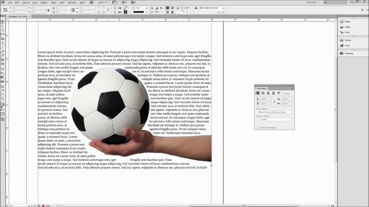 InDesign Tutorial: Wrap Text Around Images, Shapes, and Objects ...