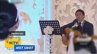 Kejutan di Acara Dinner Silaturahmi Syahrini & Reino Barack - Hot Shot