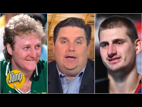 Brian Windhorst can't believe Gregg Popovich compared Nikola Jokic to Larry Bird | The Jump