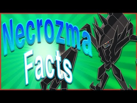10 Interesting Facts About Necrozma! Pokémon Ultra Sun and Ultra Moon