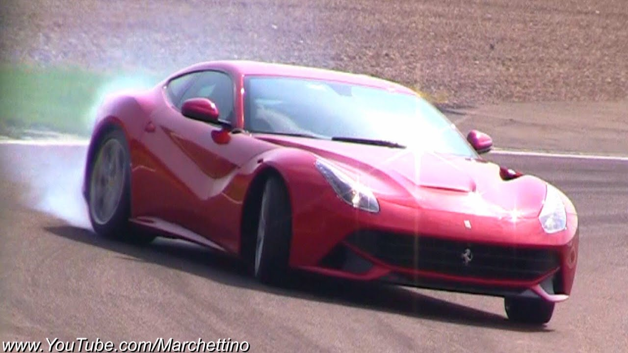Ferrari F12 Berlinetta DRIFT and Accelerations! - YouTube