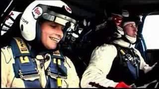 Colin McRae testing Porsche 911 and Subaru WRC car.