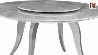 Temptation Round Marble Dining Table Vgwctem-8tf008