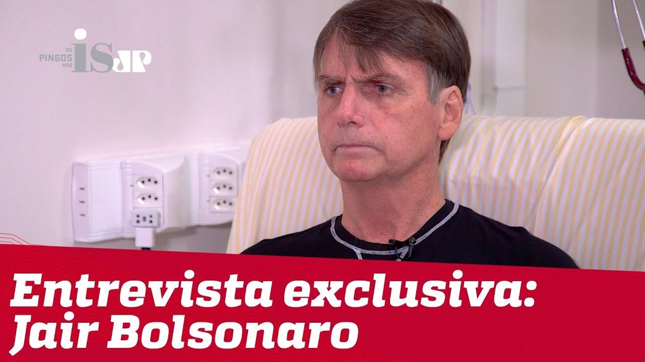 Resultado de imagem para Bolsonaro fala pela primeira vez após atentado