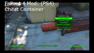 Fallout 4 Mod: Cheat Container (PS4)