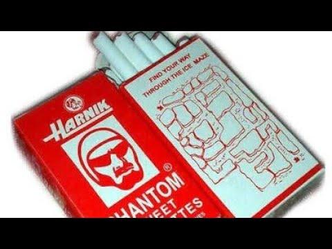 Unboxing phantom sweet cigarettes bought from amazon.