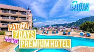 7 DAYS PREMIUM HOTEL PATONG ROYAL CROWN HOTEL PHUKET ОБЗОР ОТЕЛЯ