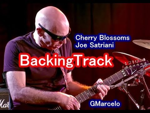 Joe Satriani Cherry Blossoms ( BACKING TRACK ) Playback