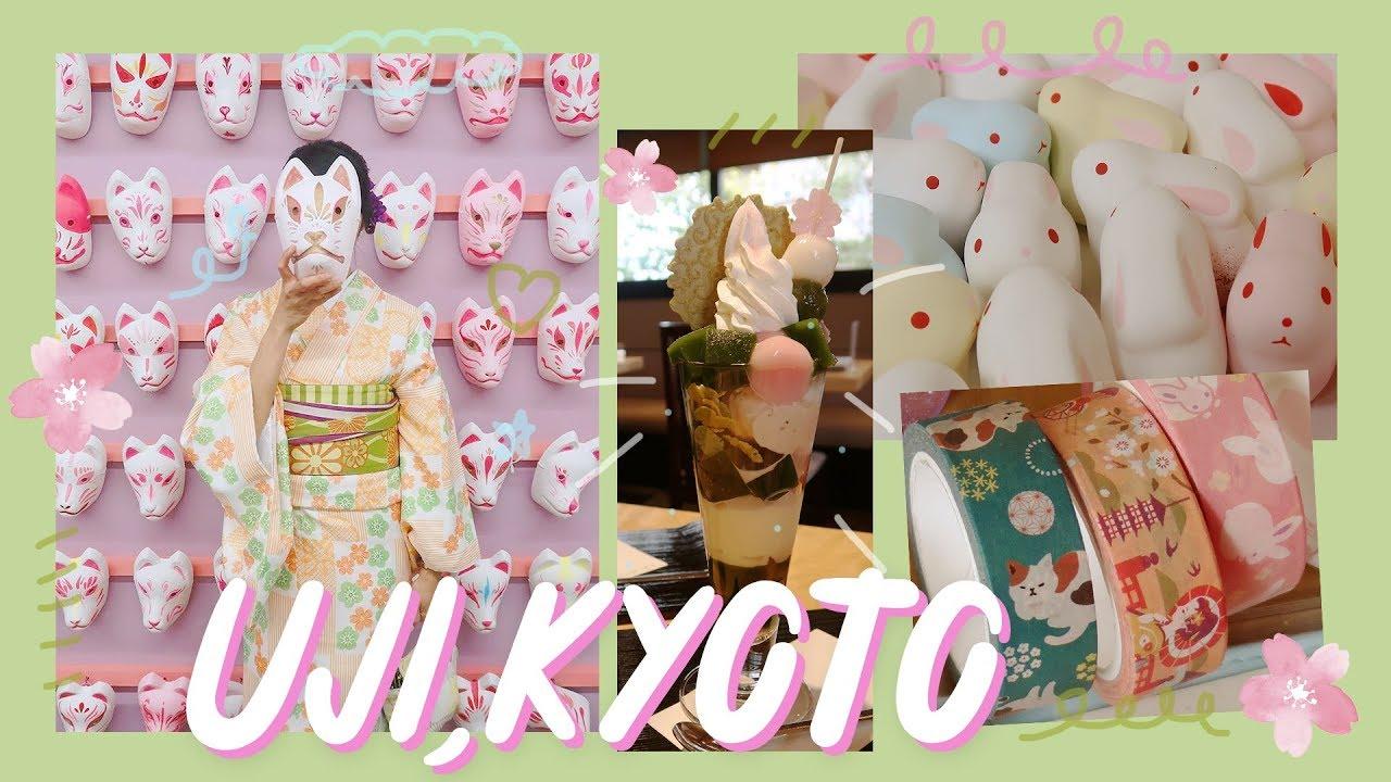 Japan Travel Vlog 7 Matcha Sweets Kimono Rental In Kyoto Journal With Me