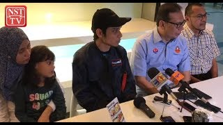 Malaysian stranded in typhoon, quake-hit Japan arrives home