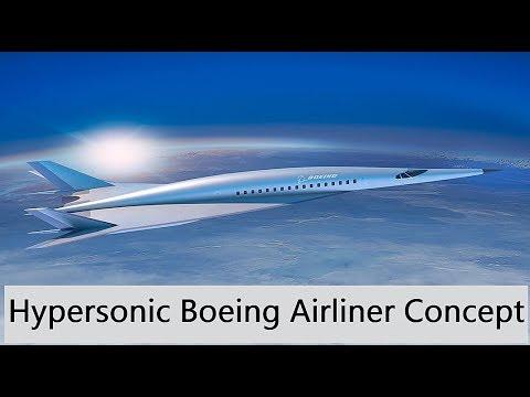 0 - Boeing stellt ein Hyperschallflugzeug vor – schon bald in nur zwei Stunden nach New York