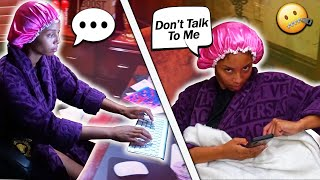 My Wife Ignored Me For 24 Hours Straight PRANK!
