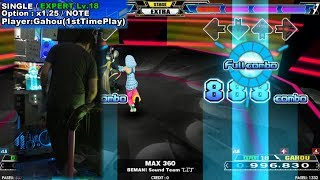 [DDR A]MAX 360[Single-EXPERT]996,830 FC by Gahou (1st time play)