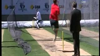 brett lee vs piers morgan the full over