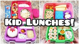 Kid Lunches! Plus what she ate! - Week 4 - Easy Real Lunches - Bella Boo's Lunches