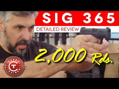 SIG P365 Pushed to Failure, 2,000 round Review | Episode #60