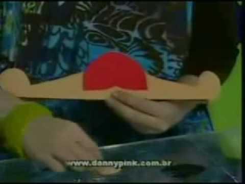 Danny - Cantinho da Arte em E.V.A. (Cabide de Joaninha)