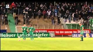 FC Homburg - 1. FC Kaiserslautern II 18. Spieltag Regionalliga Südwest 2012/2013