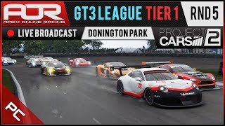 Project CARS 2 | AOR GT3 League | PC Tier 1 | S10 | R5: Donington Park