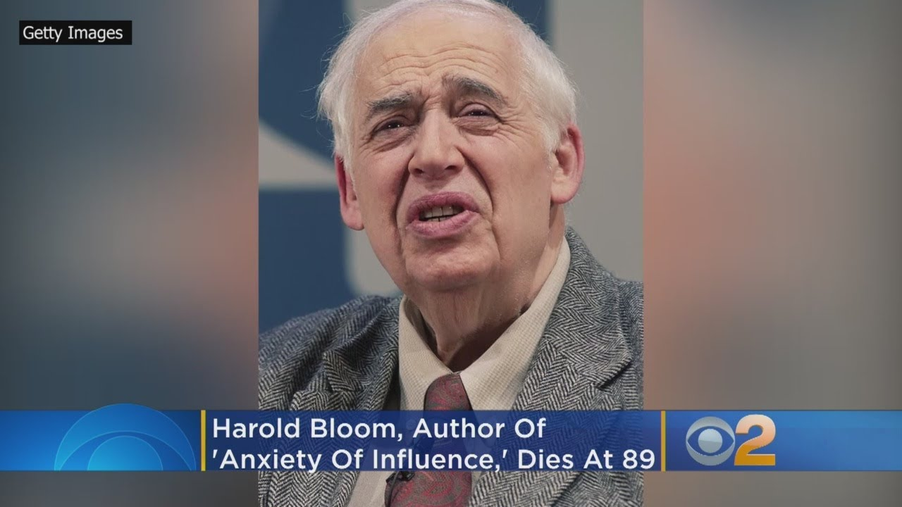 Harold Bloom obituary