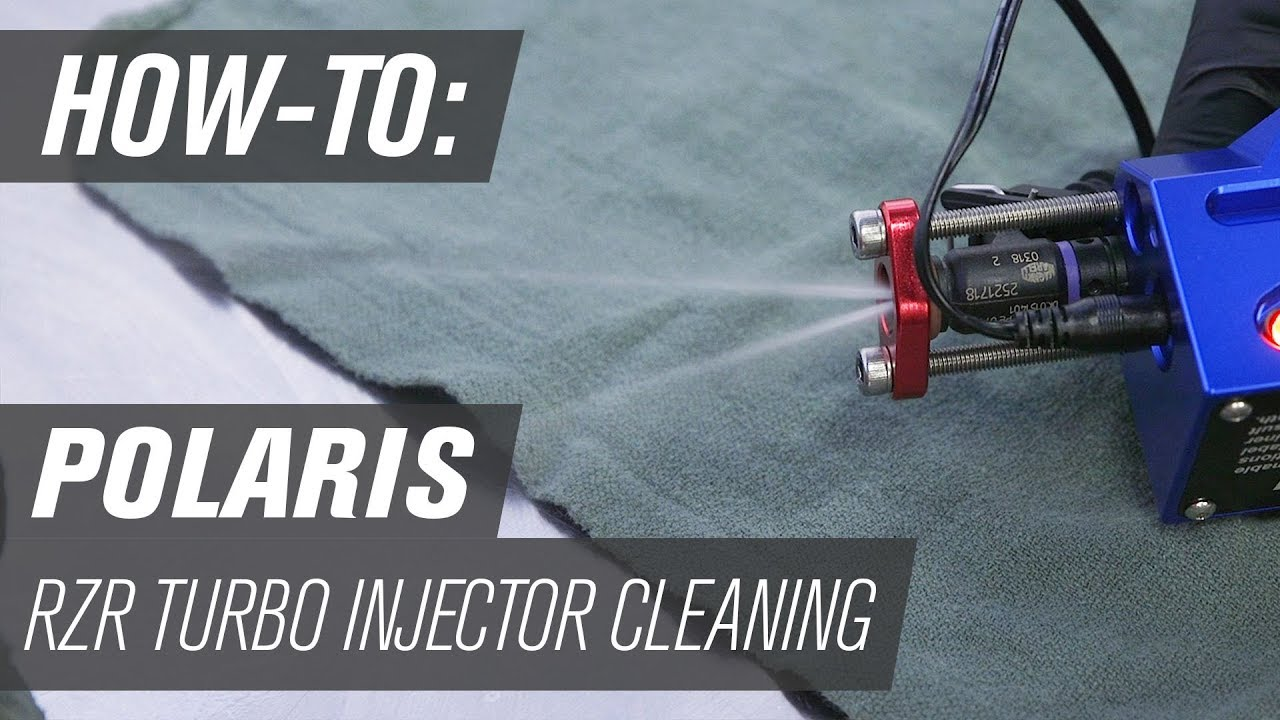 How To Clean Polaris RZR Turbo Fuel Injectors