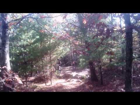 Mountain Biking in Needham Town Forest. Needham, MA 10/19/13 1/3