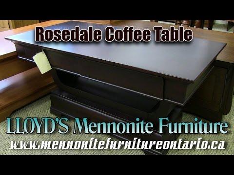Mennonite Coffee Table, Mennonite Furniture Gallery Newmarket Ontario.