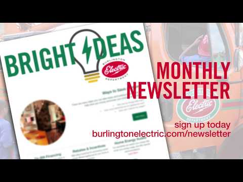 Bright Ideas #1 | E-billing | Burlington Electric Department